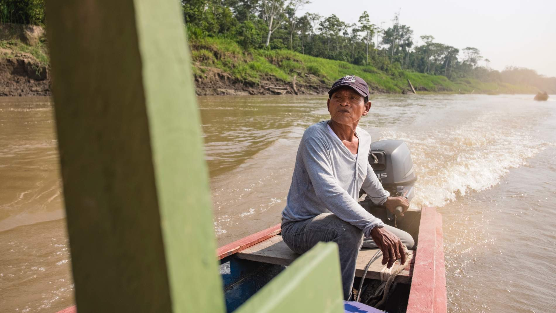 3 days between anacondas and pink dolphins in the Peruvian Amazon