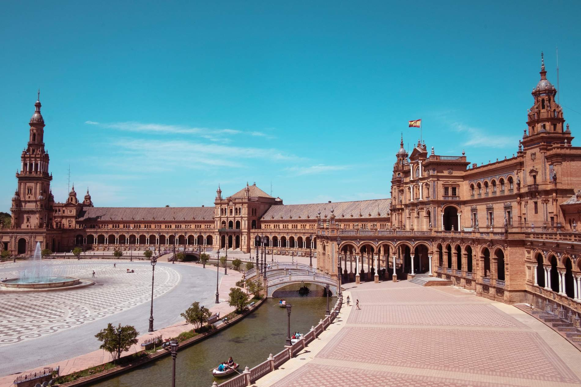 ITINERARY FOR SEVILLA