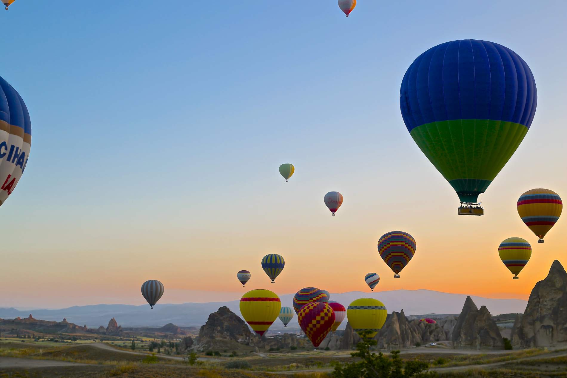 Viaje en globo por Capadocia
